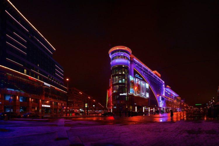 Фото анализ рынка городской люминисценции. Рынок освещения городов