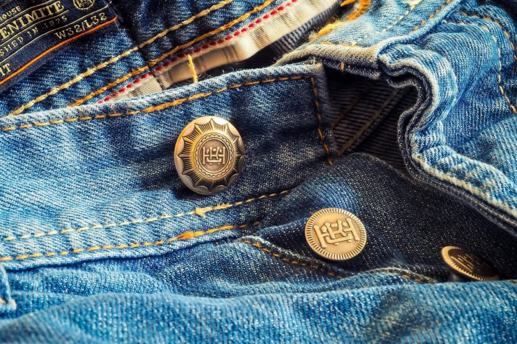 Фото рынок джинсовой ткани