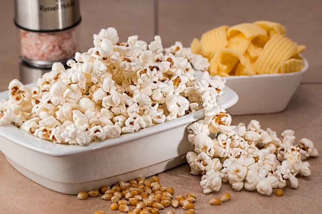 Фото рынок попкорна