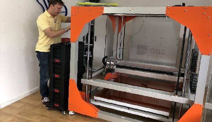 Фото Рынок 3D принтеров для печати мебели