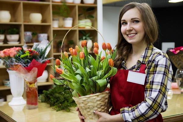 Фото рынок свежесрезанных цветов отчет